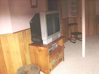 Saco house photo - Bedroom #4, View 2 to TV