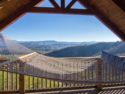Pigeon Forge cabin rental - Wow! What can I say, nap, read a book, gaze at the long range 180 degree view.