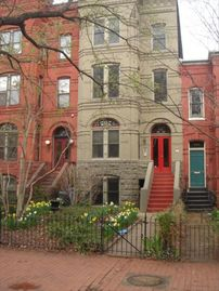 Capitol Hill apartment rental - Street View of Victorian Town House