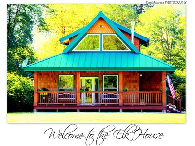 Welcome to the Elk House! 4 Private Acres/Close to Hiking and Lake Quinault!