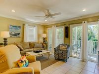 Just Steps to the Beach   Gulf-side Townhome with Free WiFi!
