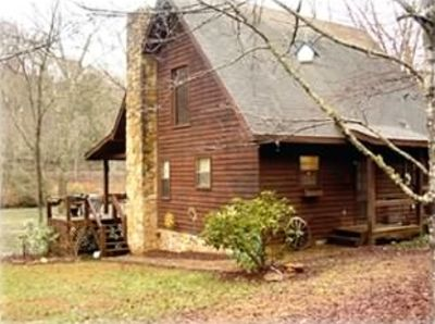 Cabin vacation rental in mccaysville georgia 269028 for Fishing cabins in tennessee