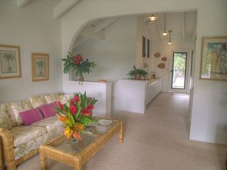 Poipu condo photo - Vaulted ceiling, flat screen TV in the living room