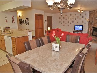 Steamboat Springs condo photo - Kitchen, Living & Dining Rooms are one large space