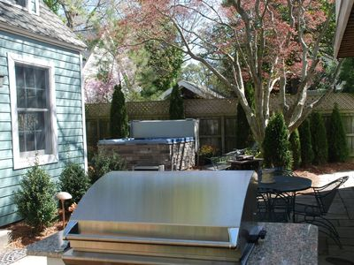 Rehoboth Beach house rental - Bubble your cares away in the hot tub!