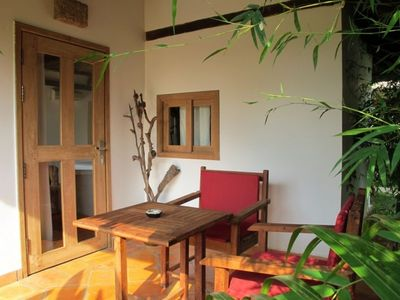 Deluxe Bungalow, 2 Single Beds in Kep