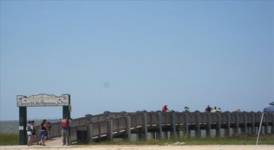 McPherson Fishing Pier, Front Beach
