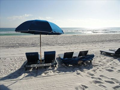 Our 2 sets of beach chairs March 1-Oct 1