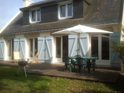 Beachfront villa rental Gulf of Morbihan