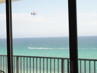 One of many amazing views from inside our Condo!