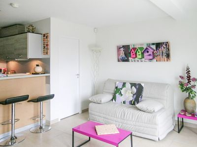 Apartment T2, terrace, private garden, for 4 people, 1 bedroom