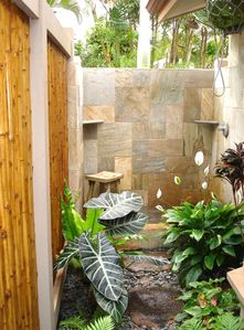 Really Escape in Your Lush Outdoor Shower!!