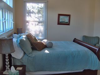 Folly Beach house photo - upstairs bedroom w/ queen bed