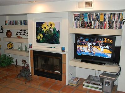 Enjoy our new 42' HD TV with Direct TV's 250 Channels w/HD package