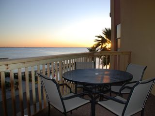South Padre Island condo photo - Enjoy a Romantic Sunset