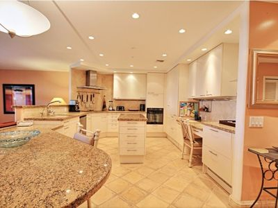 This bright and open concept kitchen is a one of a kind for the Kaanapali Royal.