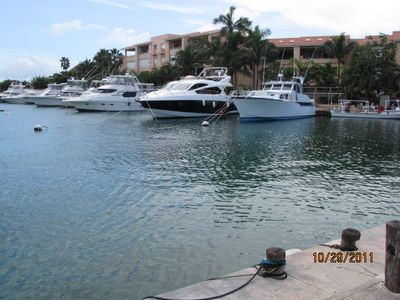 Puerto Aventuras condo rental - View of the Marina