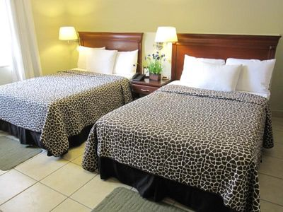 Comfortable beds and plush pillows fill our rooms