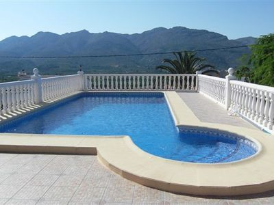 Orba villa rental - The Pool