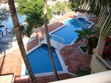 Private Pool Area - Child + Adult Pools