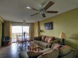 St Pete Beach condo photo - View of Living / Dining area from Kitchen.