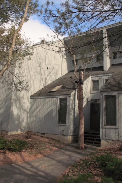 Glen Arbor condo rental - Private Entrance in the front...just steps from the parking lot.