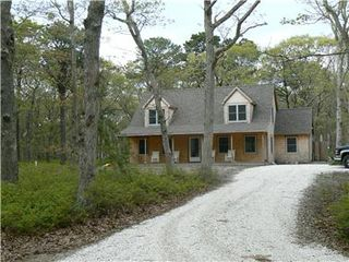 Vineyard Haven house photo - Private wooded location