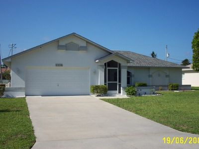 Cape Coral villa rental - Our modern villa is close to all amenities