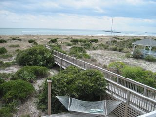 Wrightsville Beach cottage photo - Ocean and boardwalk view