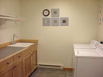 Full sized Laundry room