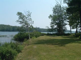 Manistique house photo - Nice large yard