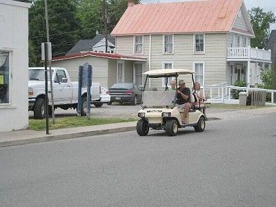 Golf Cart Community...Main source of transportation!