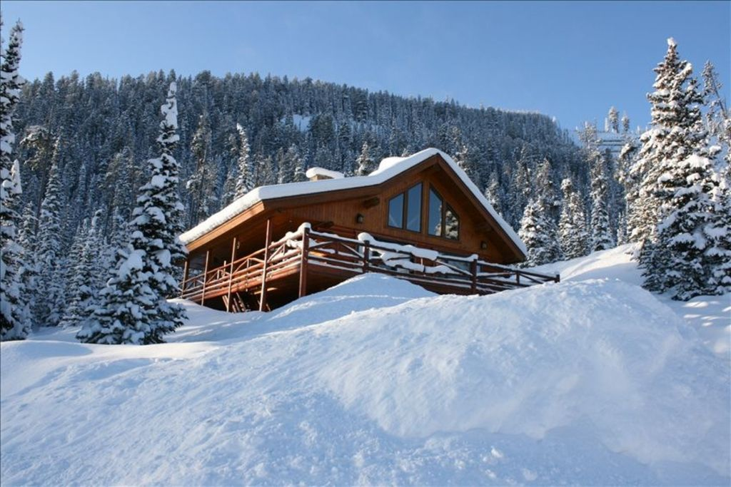 Mountain village ski in out log home vrbo - Alpine vacation houses ...