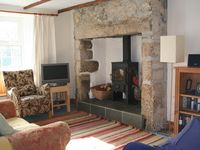 Rural West Cornwall cottage in quiet hamlet, parking and garden
