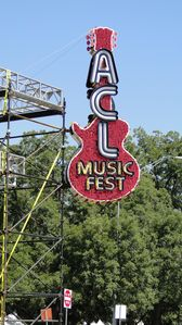 Austin bungalow rental - Austin City Limits Music Festival at Zilker Park