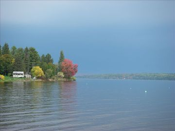Fall on Portage Lake