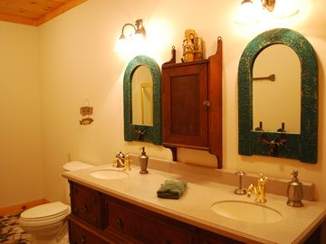 Main level hall bathroom