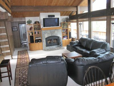 Tahoe City house rental - Great Room