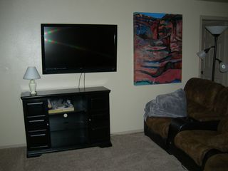 St. George condo photo - living room 47 inch flat screen TV