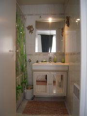bathroom - 4th Arrondissement Pompidou Le Marais apartment vacation rental photo