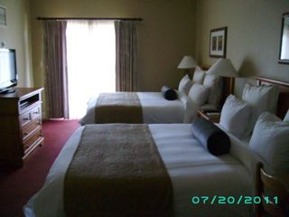Stateline condo photo - ONE OF THE BEDROOMS WITH THE EXTRA LARGE BALCONY AND TWO KING SIZE BEDS