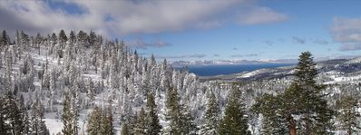 Panorama photo from our deck.