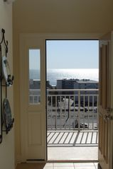 Rivendell Ocean City condo photo - Front door with ocean view!