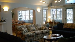 Open great room that seats at least 10 people - Killington house vacation rental photo