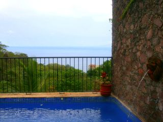 Enjoy the ocean view from the pool. - Puerto Vallarta house vacation rental photo