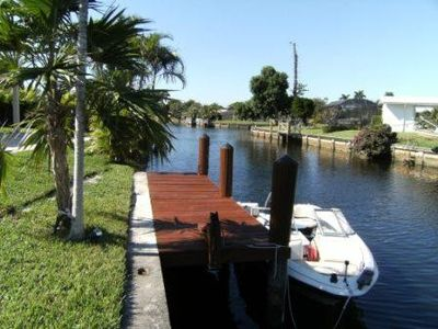 Oakland Park house rental - dock your boat at the house