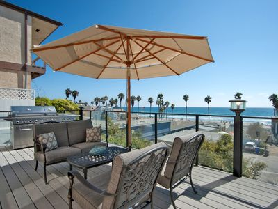 Upscale Beach Style Front Ocean View Home - Sleeps 12!