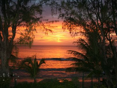 Fitts Village villa rental - Stunning Sunsets from the Veranda