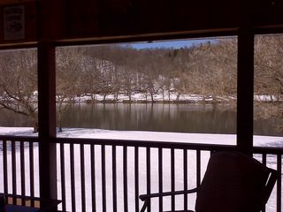 Claytor Lake cabin photo - Heaven with Snow included