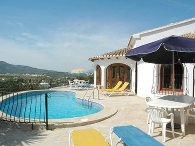 Aircon in bedrooms. Private pool. Views to Benitachell village. Wi-Fi